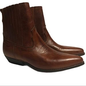 Joe Sanchez Made in Spain Leather Cowboy Boots